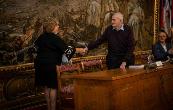 Prof. dr Gutman i Ljiljana Tica